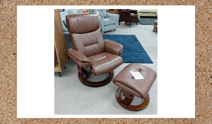 Swivel Chair and Stool