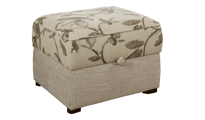 Storage Stool (Accent Fabric)