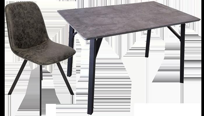 120cm Rectangular Table & 4 Chairs