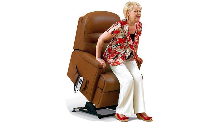 Small lift & tilt-1-motor chair