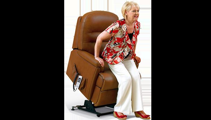 Small lift & tilt-2-motor chair