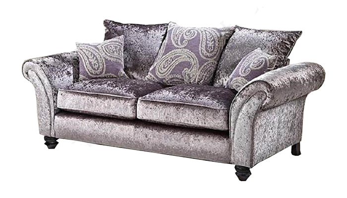 2 Seater Sofa Pillow Back