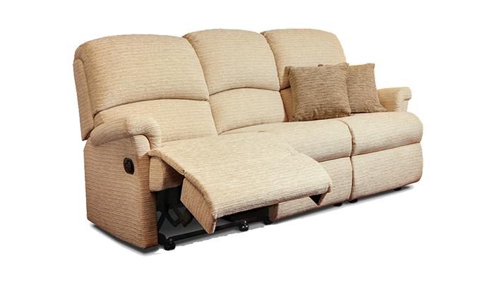 Small 3 Seater Recliner Sofa