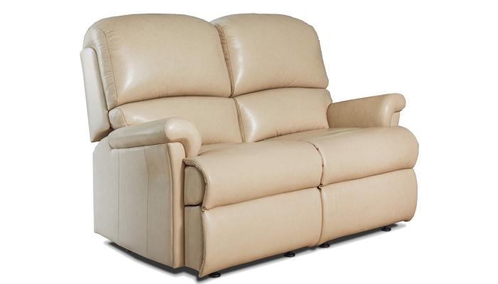 Small Fixed 2 Seater Sofa