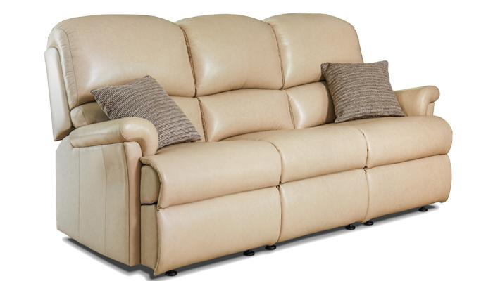 Small Fixed 3 Seater Sofa