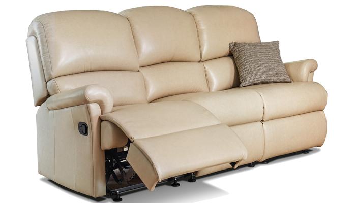 Small Reclining 3 Seater Sofa