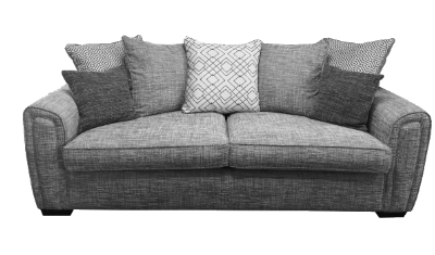 3 Seater Sofa Pillow Back