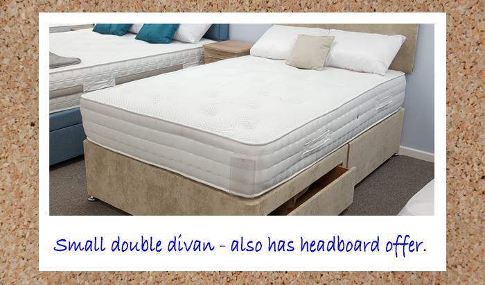 120cm Small Double Divan