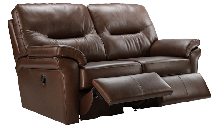 2 Seater Power Recliner Sofa Double