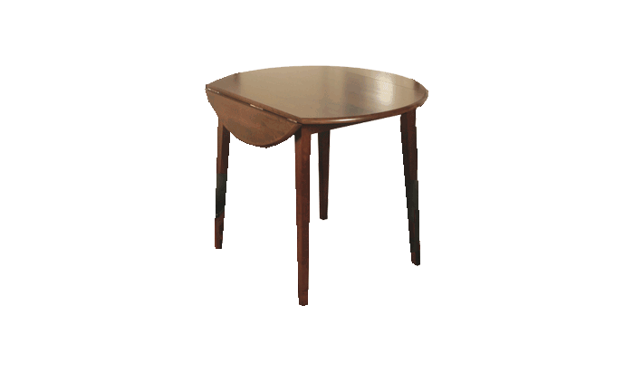 Round Dropleaf Table