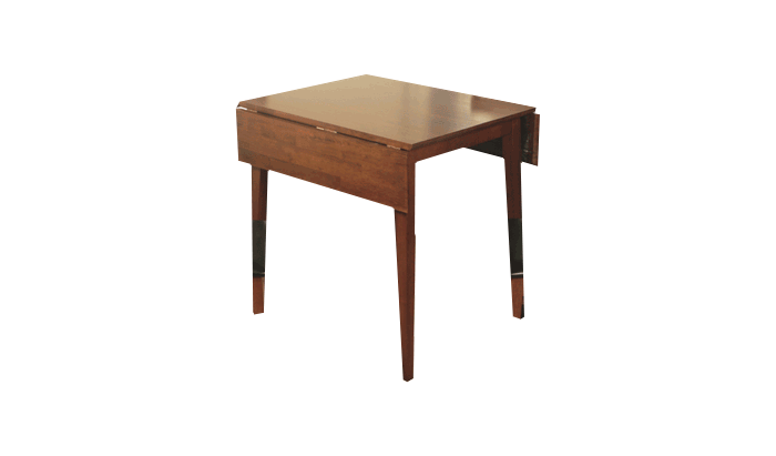 Square Dropleaf Table