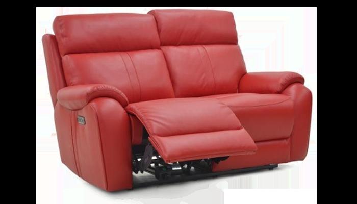 2 Seater Power Recliner & H-Rest