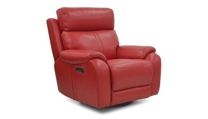 Power Swivel Armchair & H-Rest