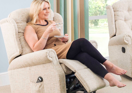 Fabric Power Recliner Chairs