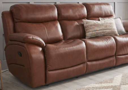 LaZboy 3 Seater Manual Recliners