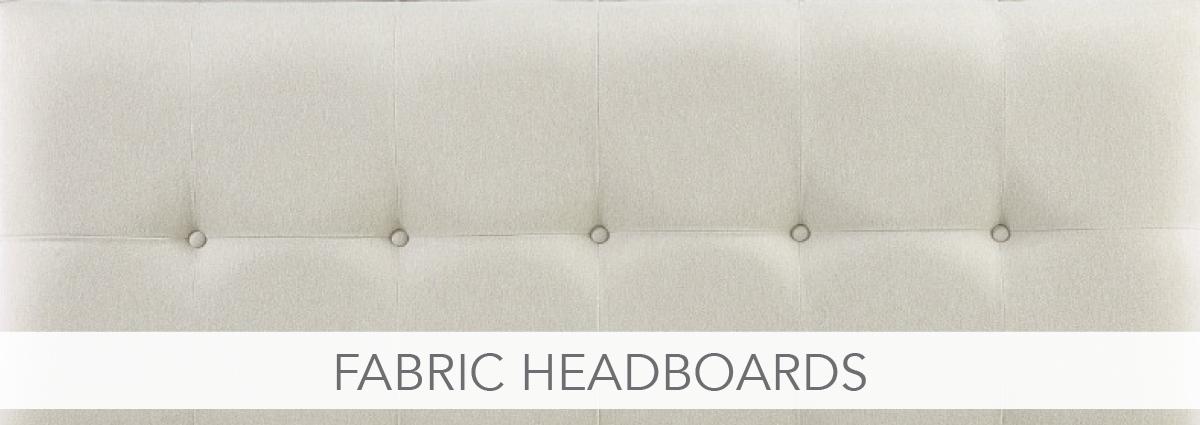 Bedrooms department banner fabric headboards