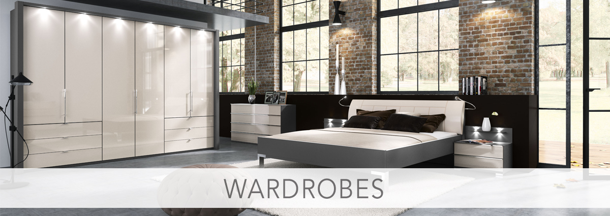 Bedrooms department banner wardrobes new