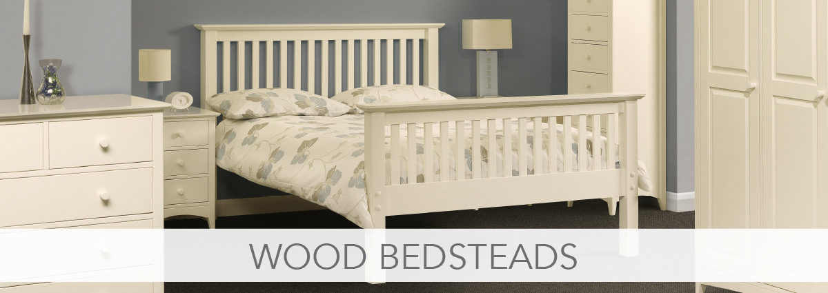 Bedsteads department banner wood