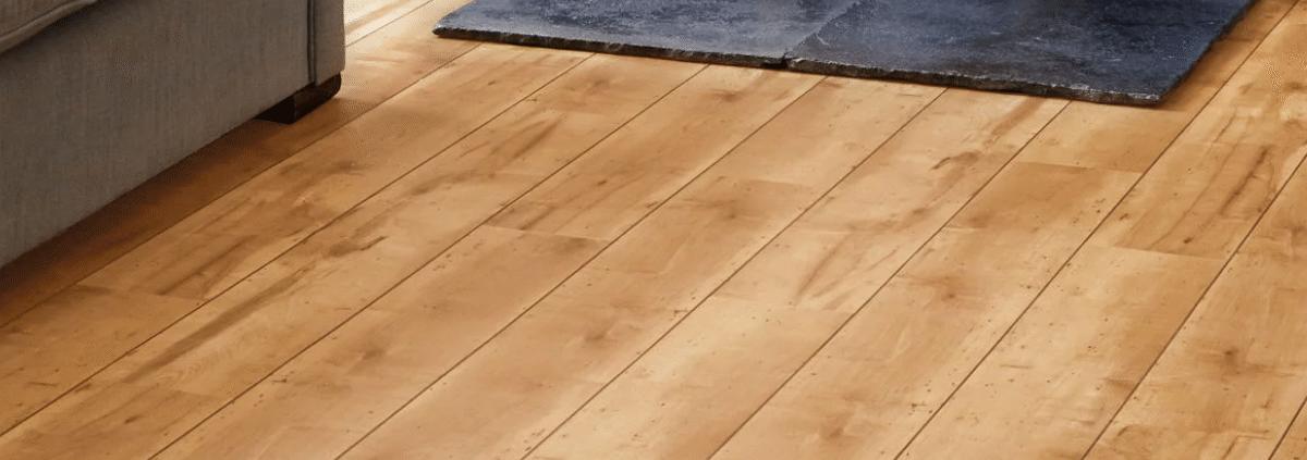 Maple luxury vinyl tiles