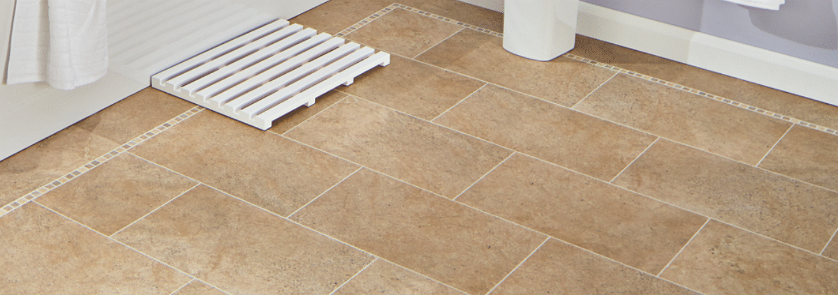Stone luxury vinyl tiles