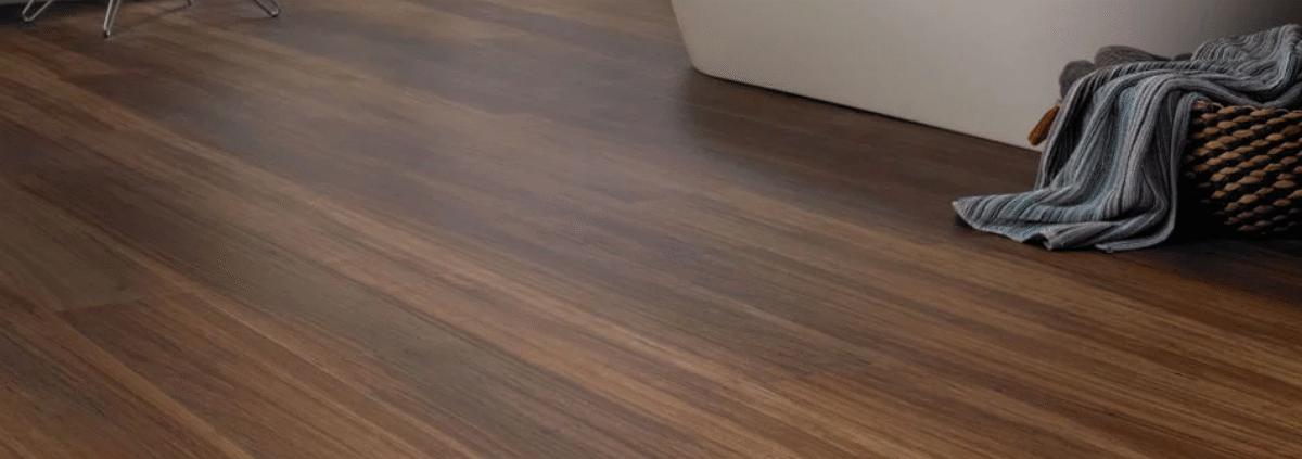 Walnut luxury vinyl tiles