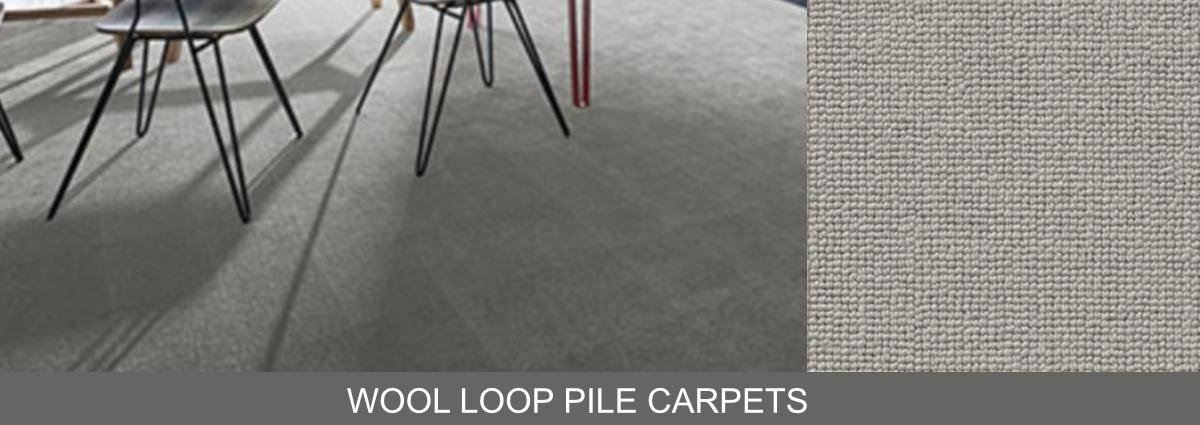 Group hero wool loop pile carpets