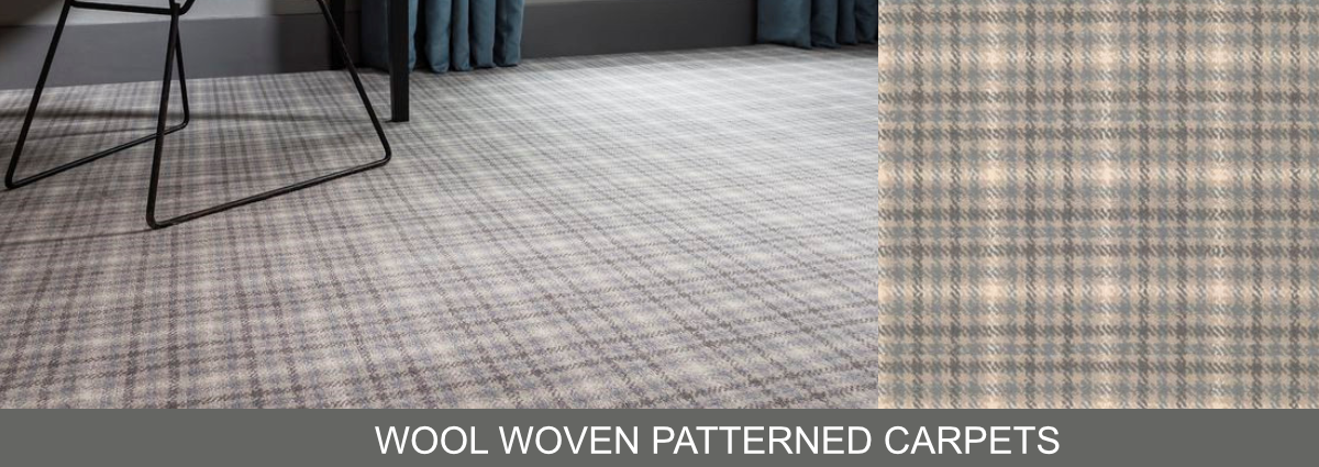 Group hero wool woven patterned carpets