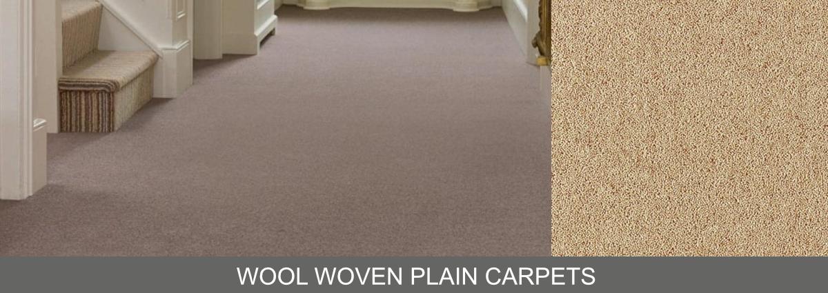 Group hero wool woven plain carpets