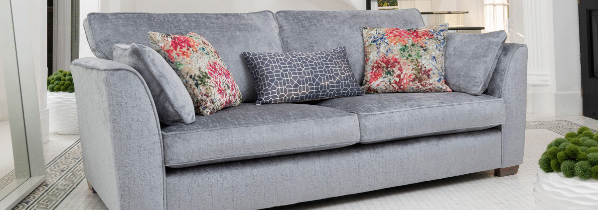 Fabric 4 Seater Sofas