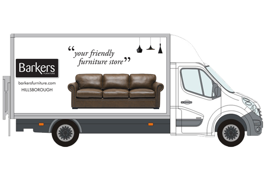 Delivery Info Barkers Furniture