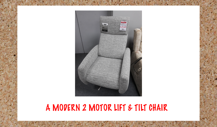 Lift and Tilt Chair