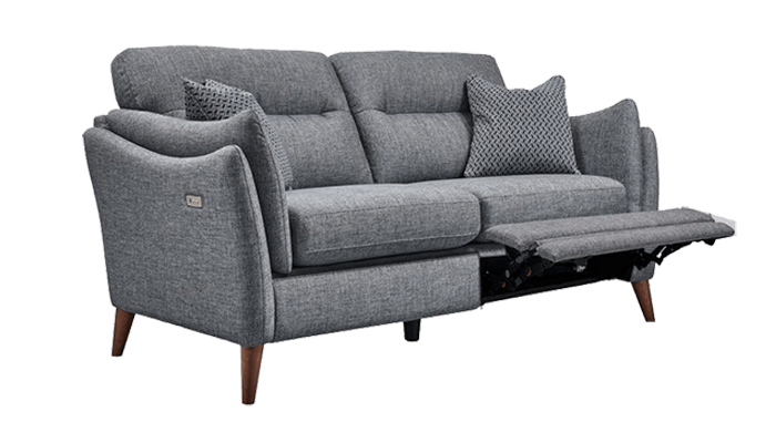2 Seater POWER Recliner Sofa (Fabric)