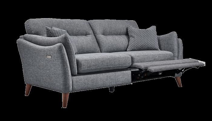 3 Seater POWER Recliner Sofa (Fabric)