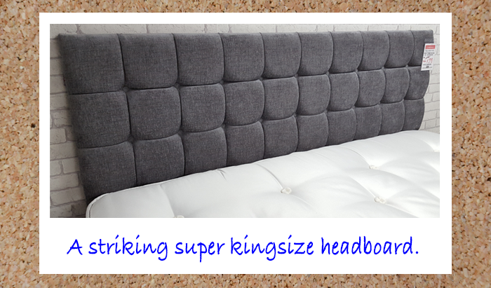 180cm Super Kingsize Headboard