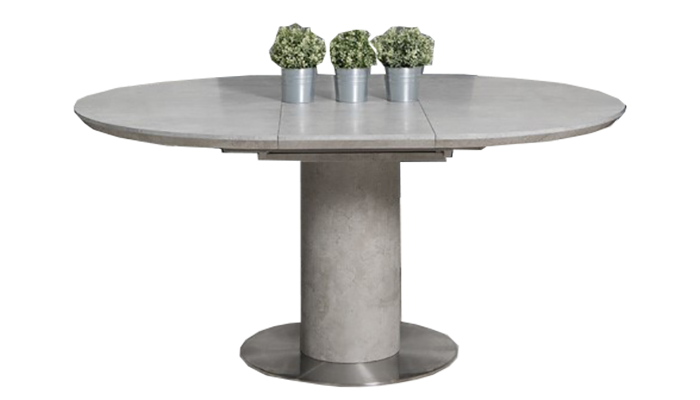 120cm Round Ext Table