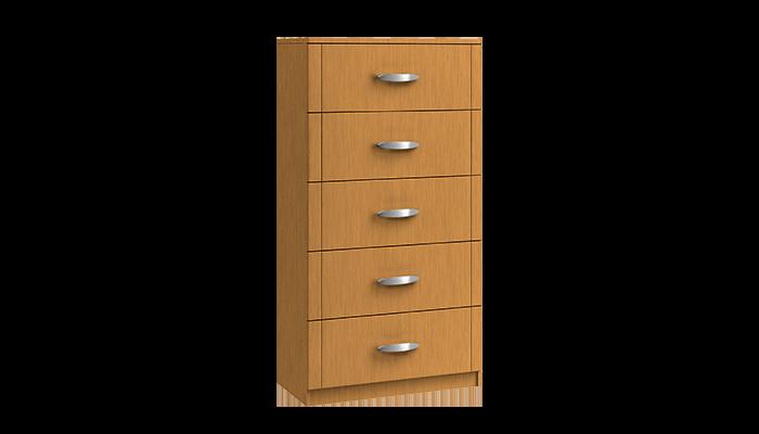 5 Drawer Midi Chest