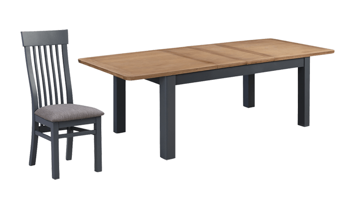 180cm Ext Table & 6 Chairs