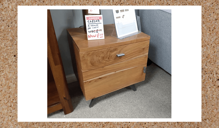 1 Drawer Chest