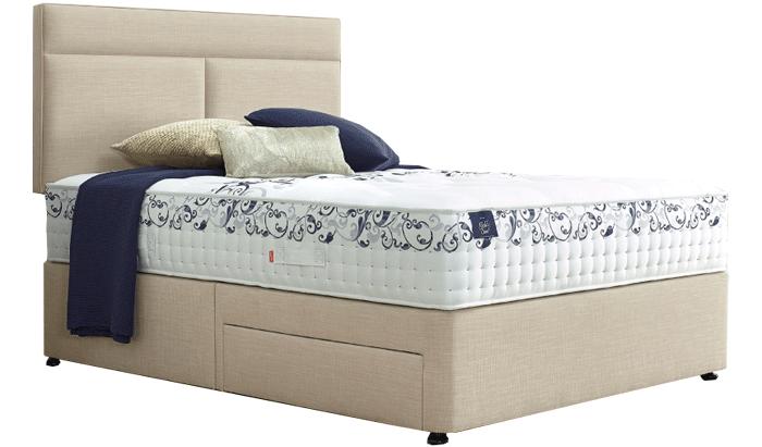 Slumberland Beds Vintage Gold Bed Range