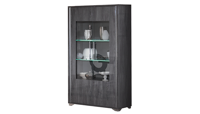 Glass Cabinet 2 Door