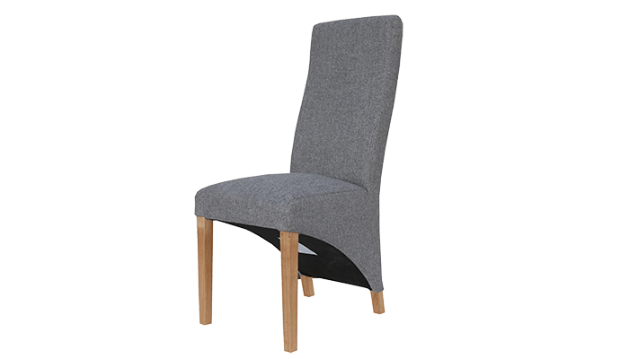 Wave Back Dining Chair