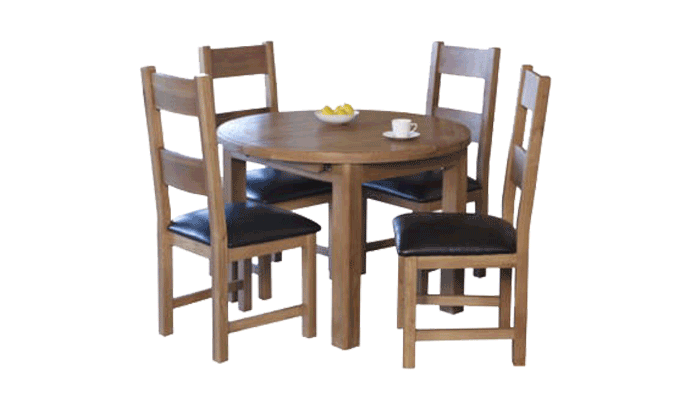 Dining Table Round Extending