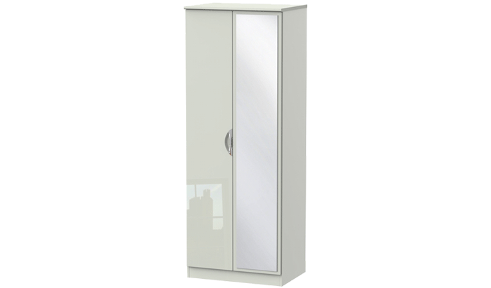 Sahara 2 Door Mirrored Wardrobe