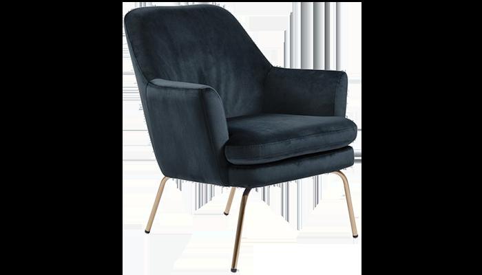 Chair - Brass Legs