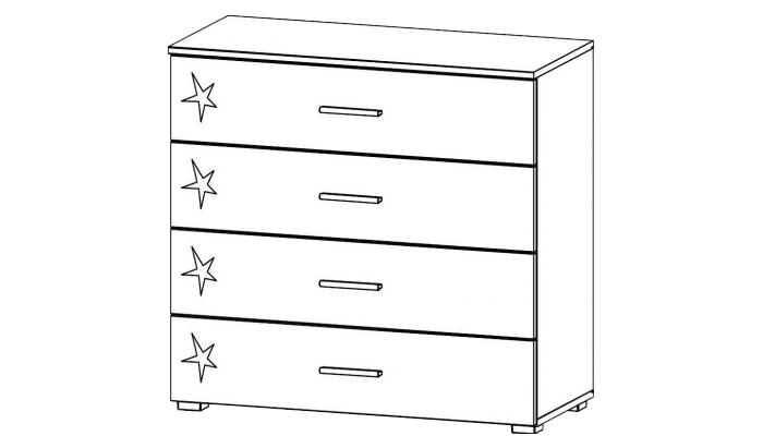 4 Drawer Chest