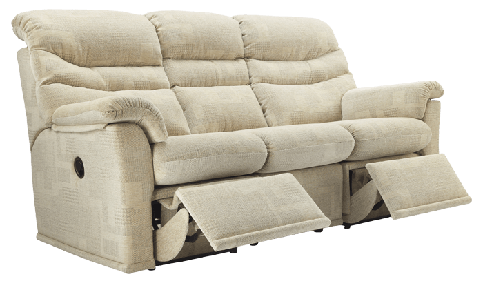 3 Seat Manual Recliner Sofa (Twin)