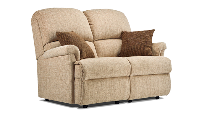 Small 2 Seater Fixed Sofa