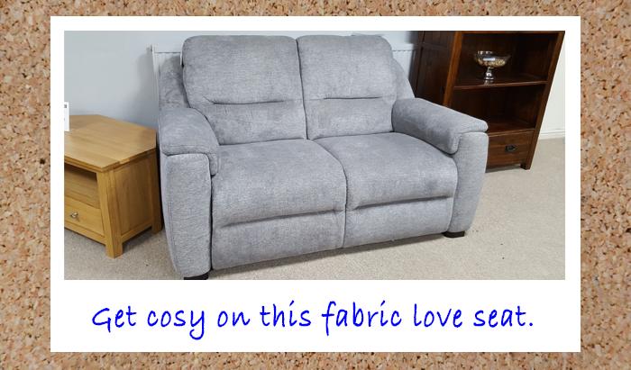 Fabric Loveseat