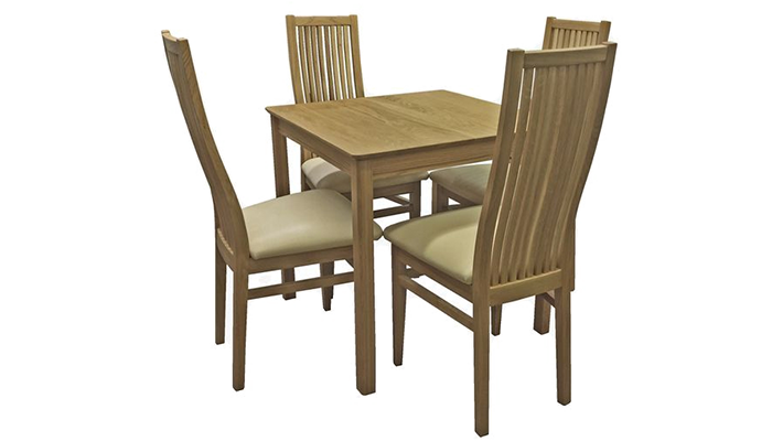 75cm Tiled Table & 2 Chairs