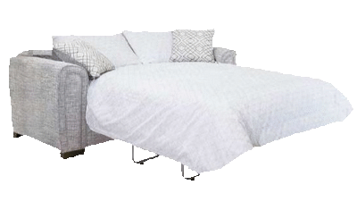 2 Seater Sofa Bed Pillow Back
